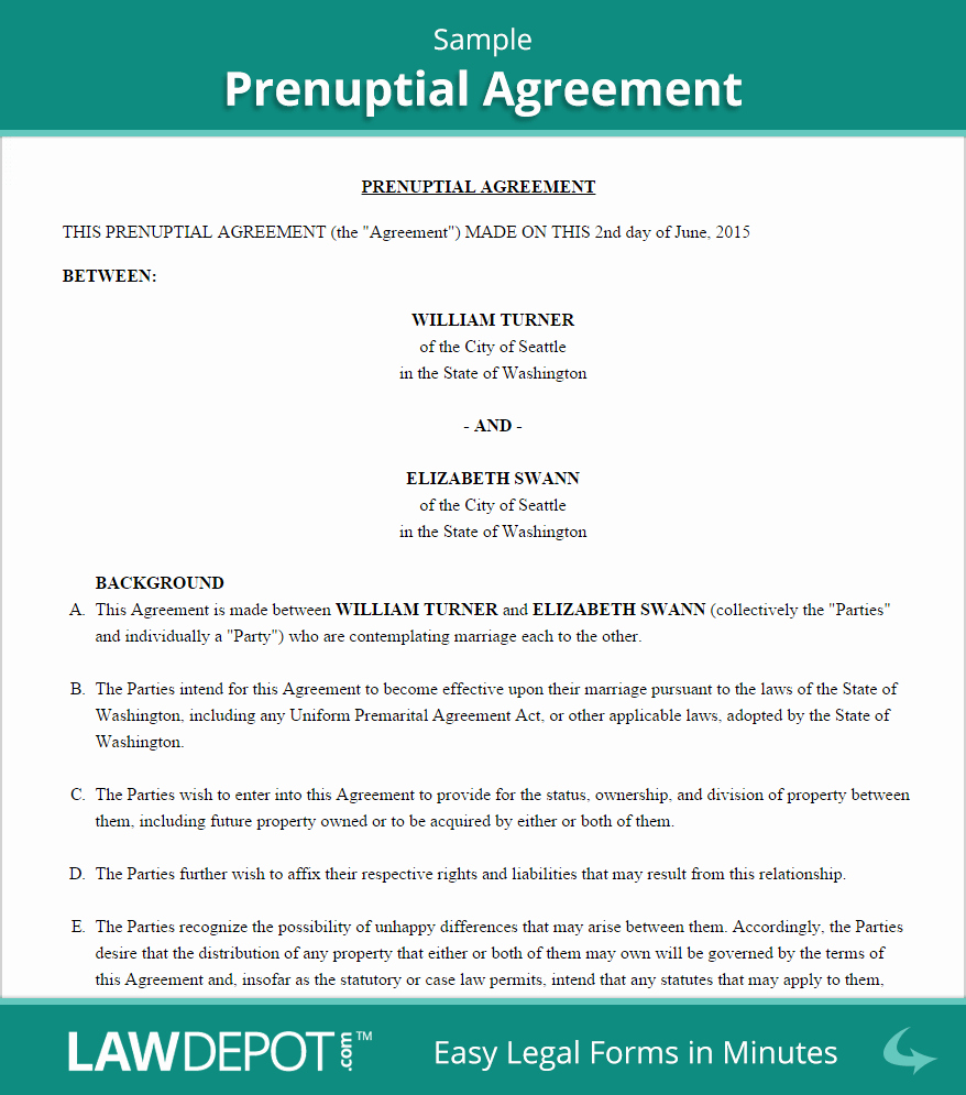 Postnuptial Agreement Florida Sample Luxury Free Prenuptial Agreement Create Download and Print