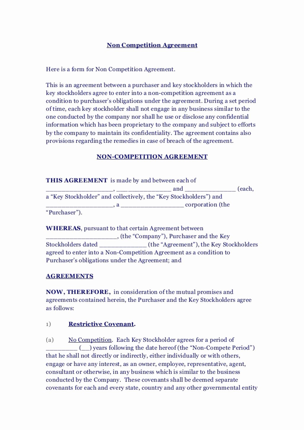 Postnuptial Agreement Florida Sample New Non Pete Agreement Texas Sample if Terminated