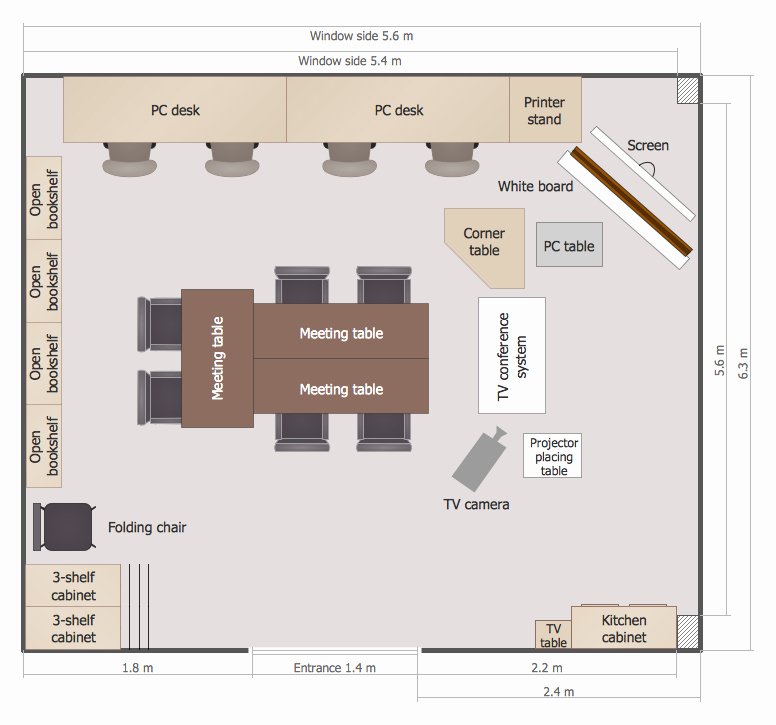 Powerpoint Floor Plan Template Best Of School and Training Plans solution