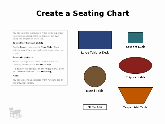 Powerpoint Floor Plan Template Lovely Seating Charts