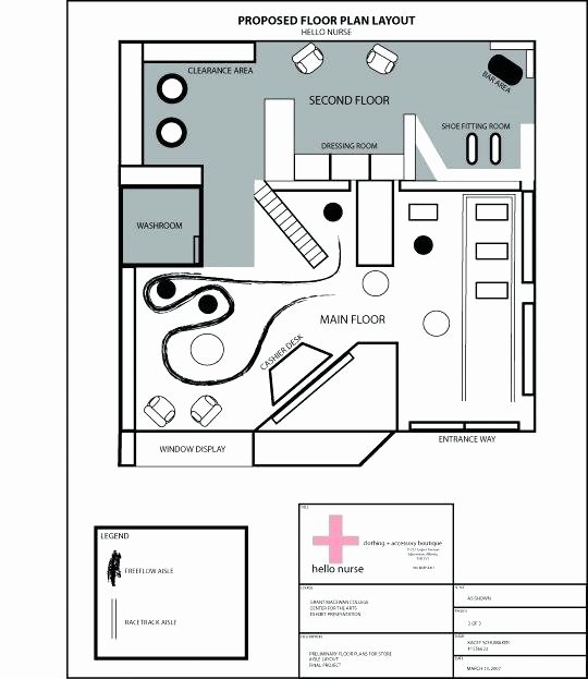 Powerpoint Floor Plan Template New Retail Floor Plan Template