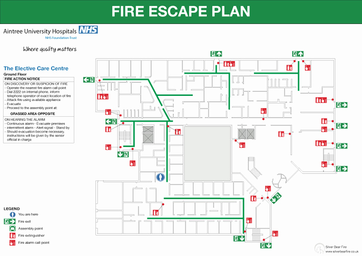 Pre Fire Plan Template Elegant Fire Emergency Evacuation Plan and the Fire Procedure