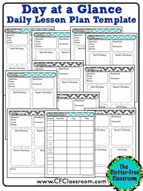 Pre K Lesson Plan Template New Creating Your Own Teacher organization Binder Lesson Plan