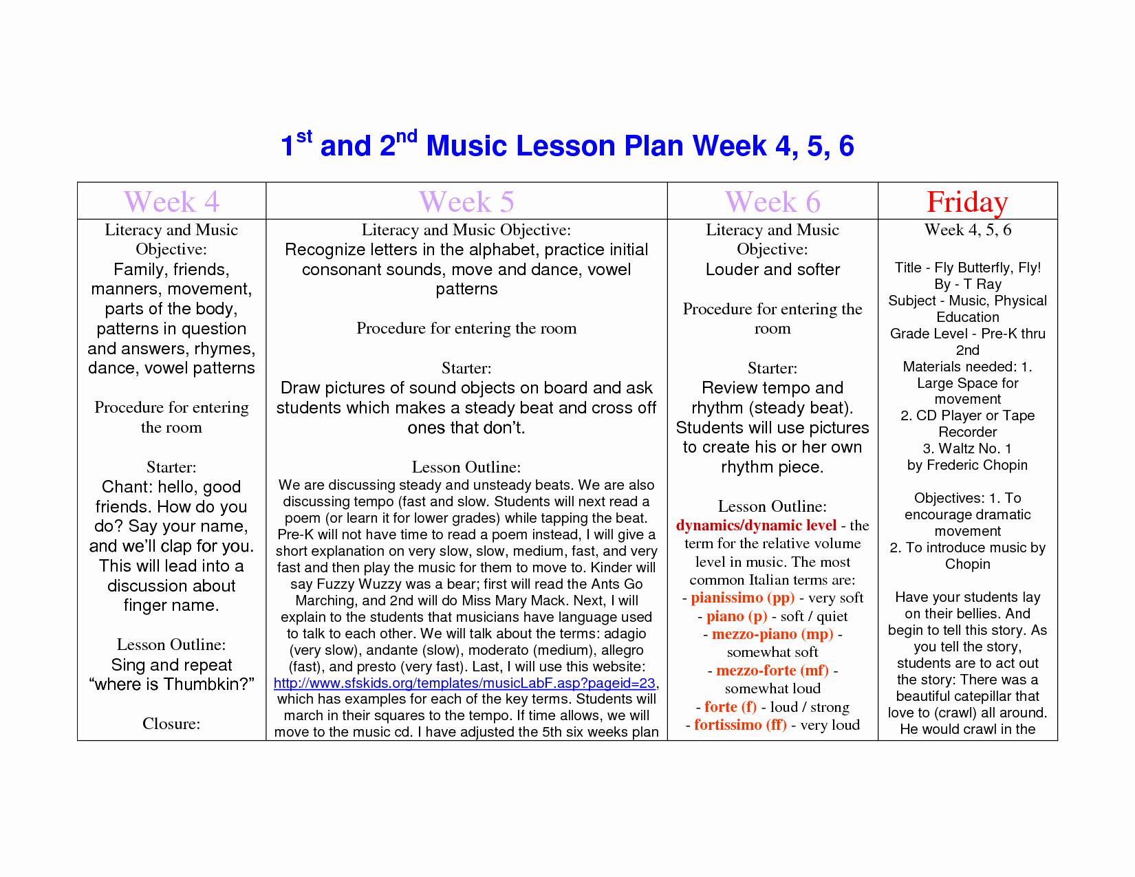 Prek Lesson Plan Template Lovely Best S Of Pre K Lesson Plan Template Pre K Lesson