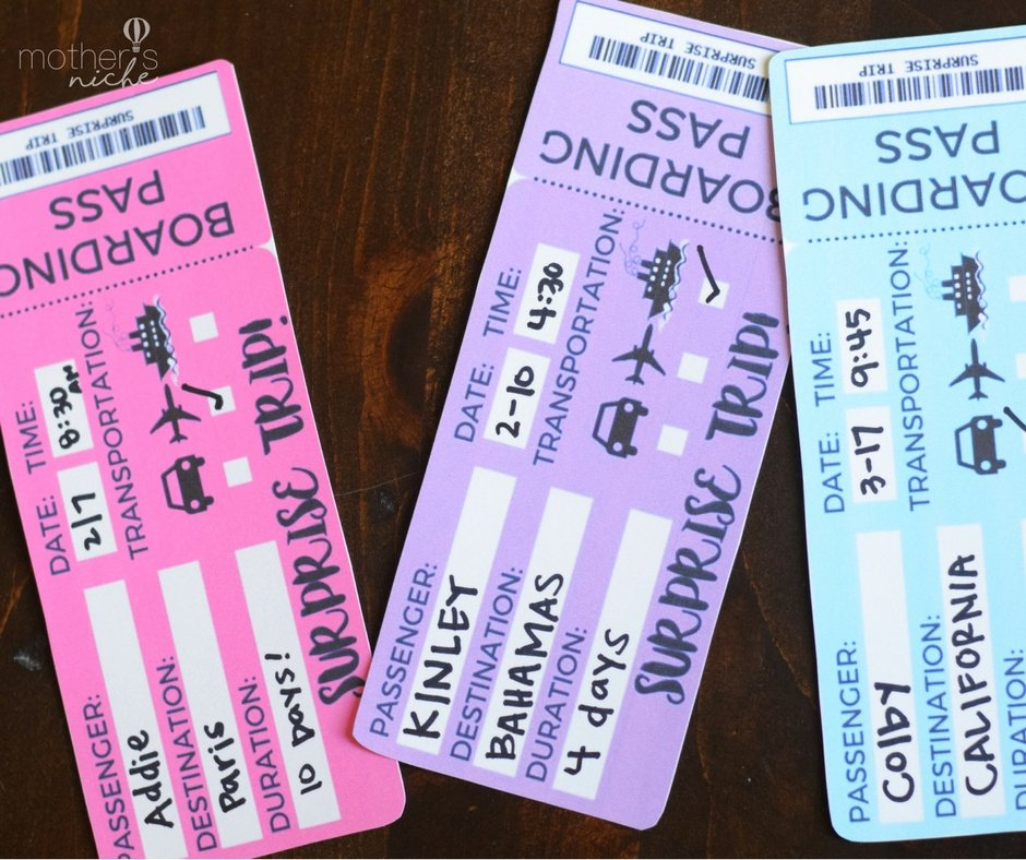 Print Tickets Free Template Best Of Fun Ways to Surprise Your Kids with A Trip to Disneyland