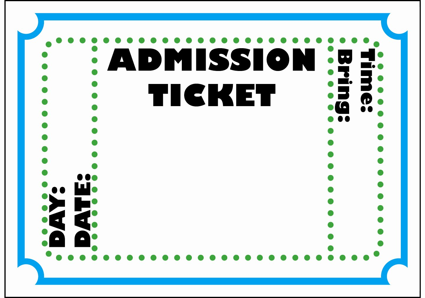 Print Tickets Free Template Fresh Free Printable Admit E Ticket Template Clipart Best