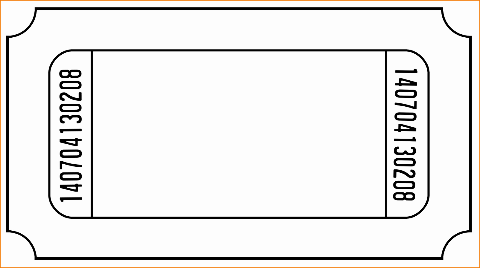 Print Tickets Free Template Unique 6 Ticket Templates