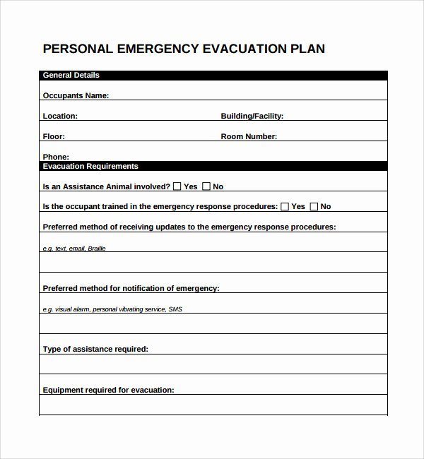 Printable Fire Escape Plan Template Best Of 10 Evacuation Plan Templates
