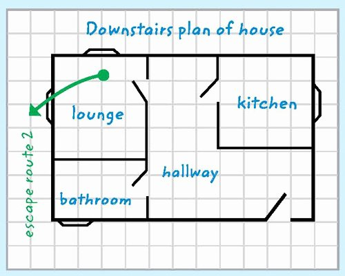 Printable Fire Escape Plan Template Best Of Escape Plan Template Cornwall Council