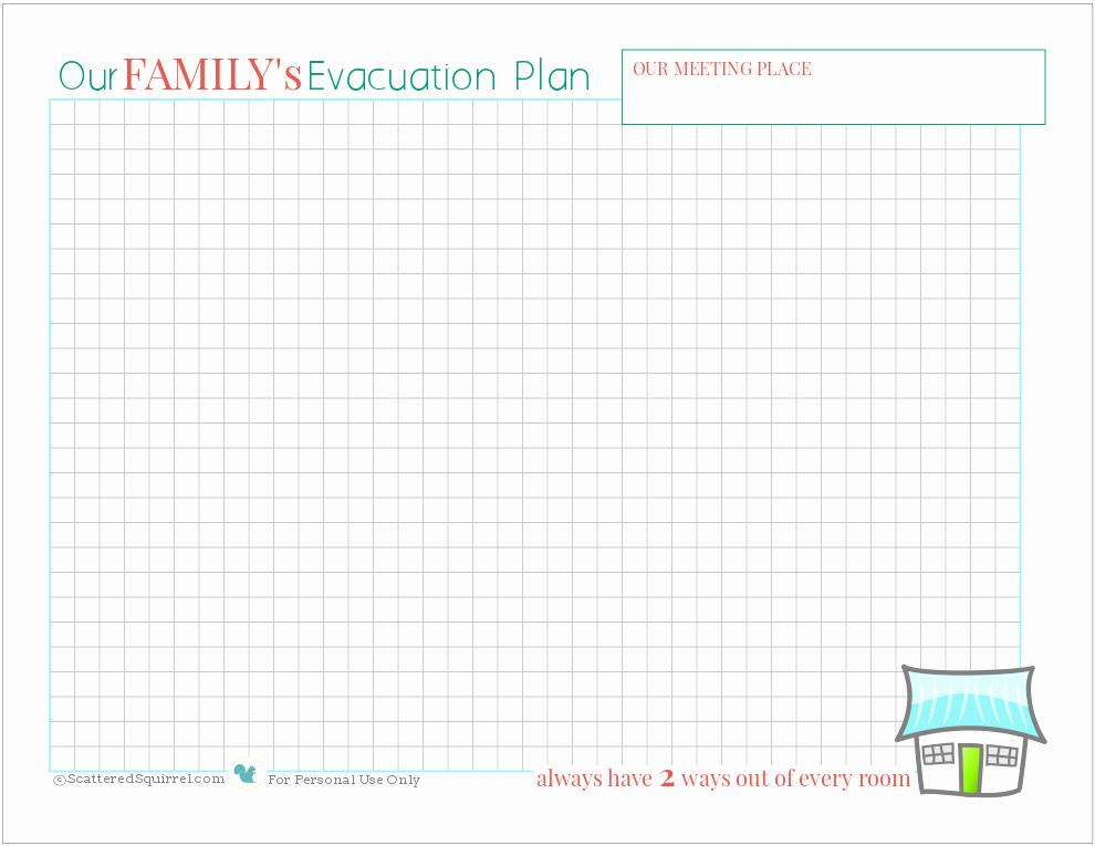 Printable Fire Escape Plan Template Best Of Fire Safety Being Prepared for House Fires Scattered