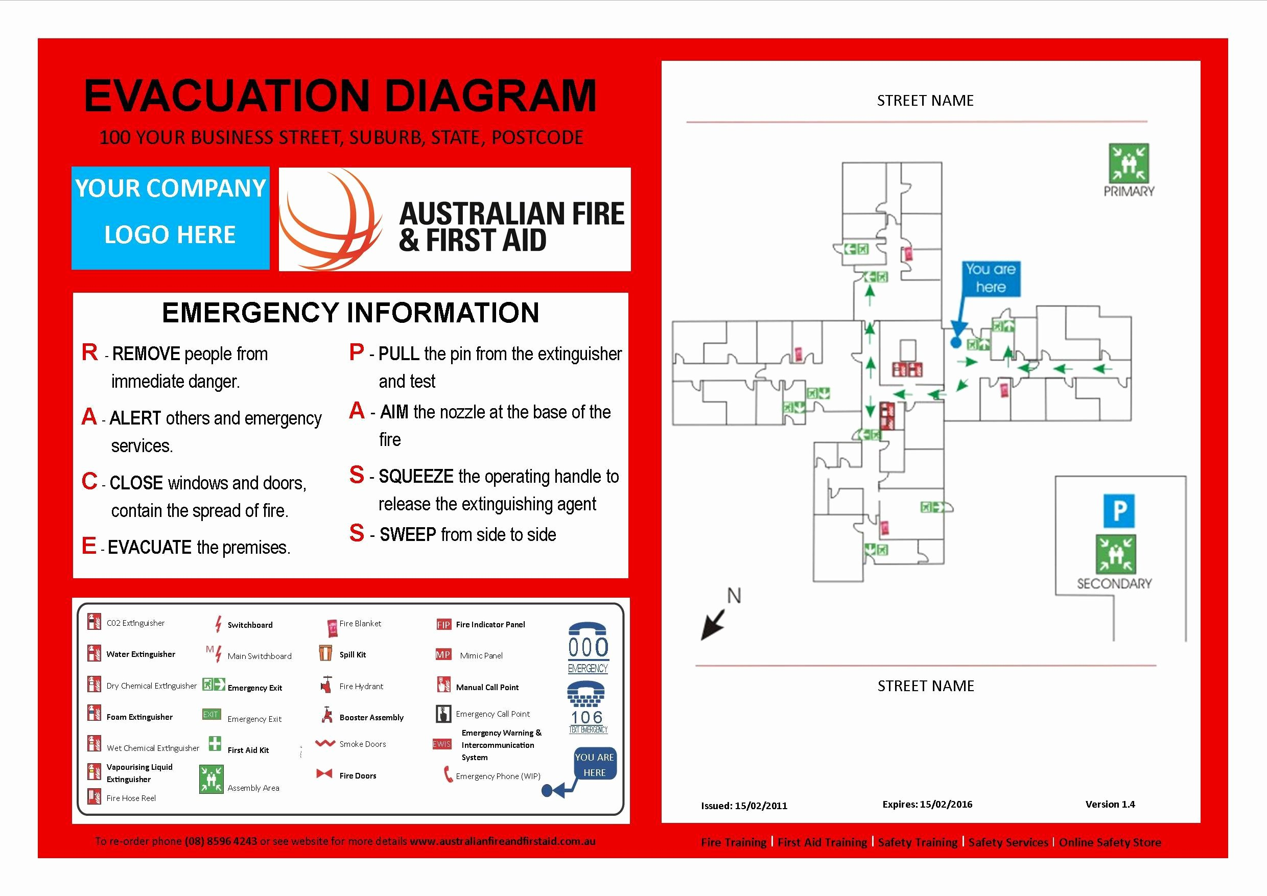 Printable Fire Escape Plan Template Lovely Evacuation Plan Template Australia Templates Resume