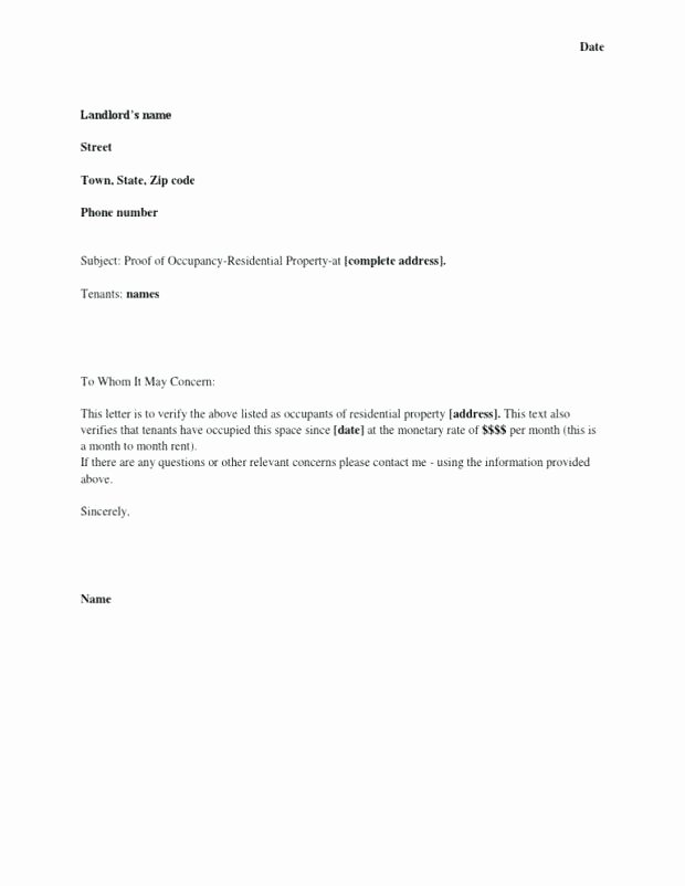 Printable Notarized Letter Of Residency Template Fresh Notarized Letter Template for Child Travel Business