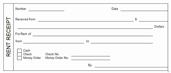 Printable Rent Receipt Template Luxury 14 Rent Receipt Templates Excel Pdf formats