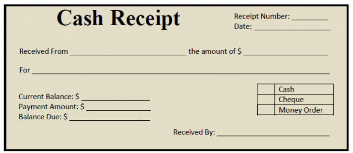 Printable Sales Receipt Pdf Awesome 50 Free Receipt Templates Cash Sales Donation Taxi