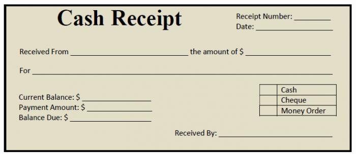 Printable Sales Receipt Pdf Awesome 50 Free Receipt Templates Cash Sales Donation Taxi