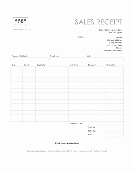 Printable Sales Receipt Pdf Awesome Receipt Templates Archives Microsoft Word Templates