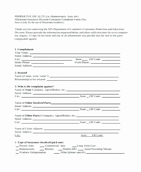 Private Investigator Contract Sample Inspirational Plaint forms Template Employee form Private