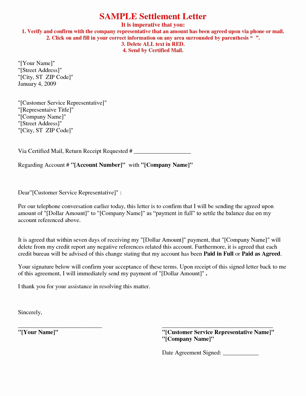 Private Mortgage Payoff Letter Beautiful 12 Simple Agreement Letter Examples Pdf Word