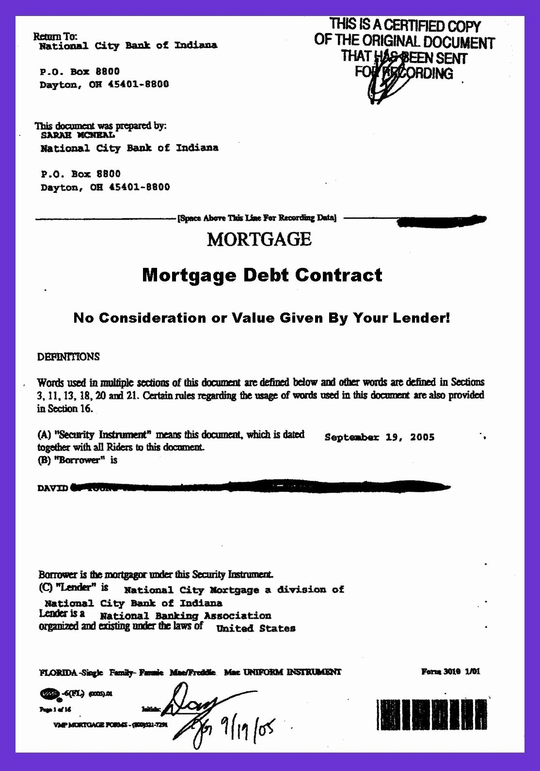 Private Mortgage Payoff Letter Best Of In Mortgage Debt Your Lender Stole Your Mortgage Note