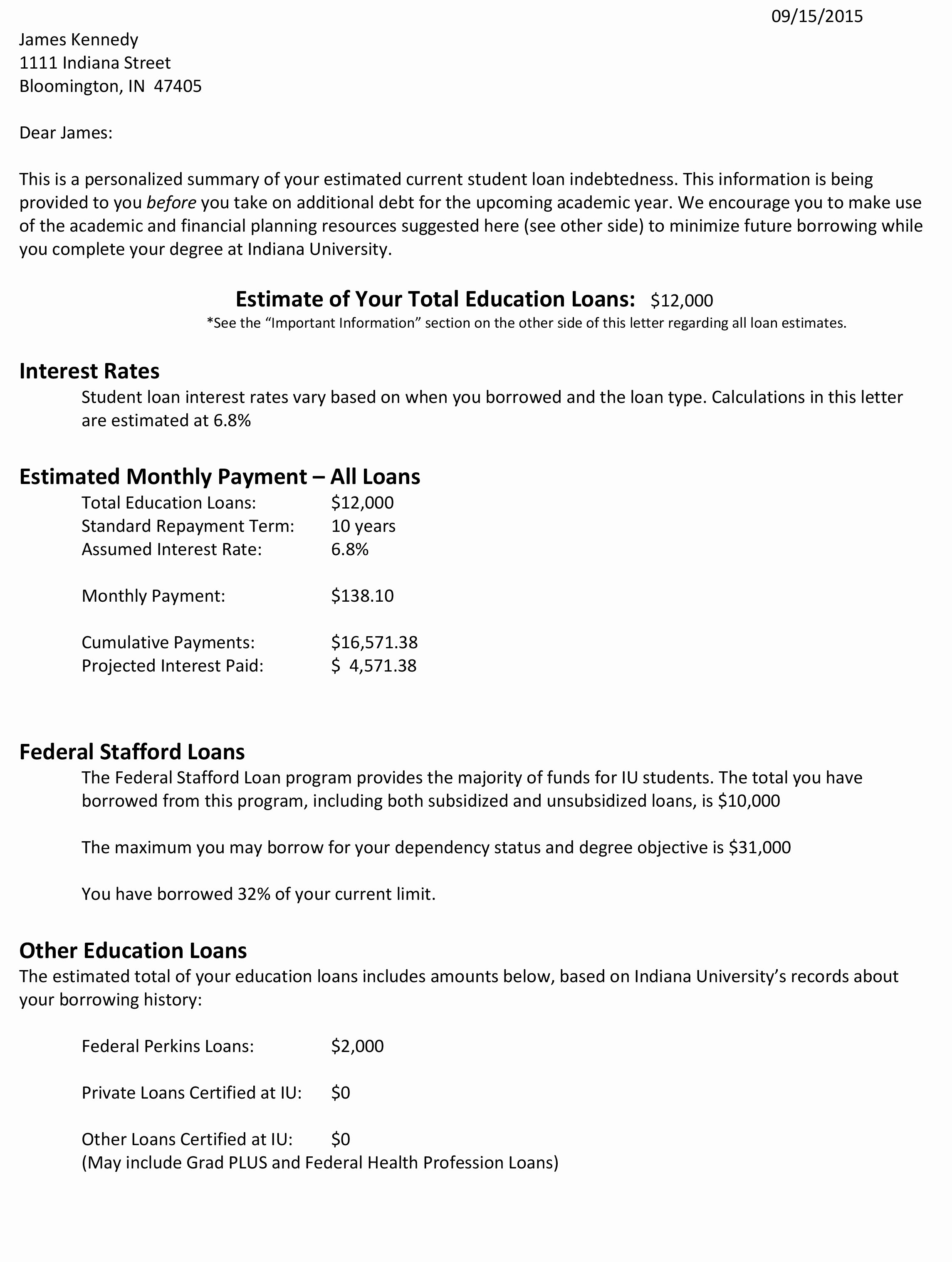 Private Mortgage Payoff Letter Elegant the Letter that S Helping E College S Students