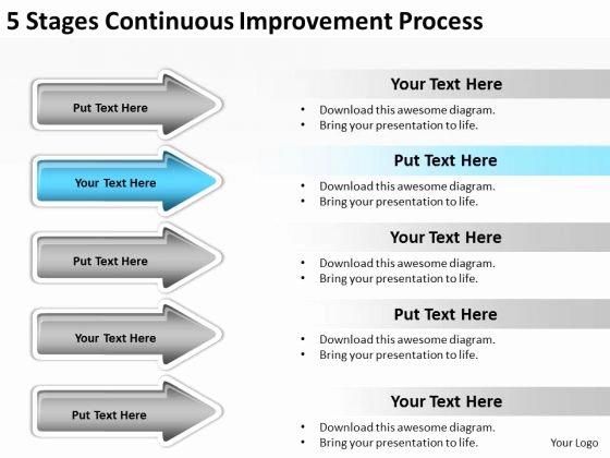 Process Improvement Plan Template Fresh Process Improvement Plan Template Powerpoint Cpanjfo