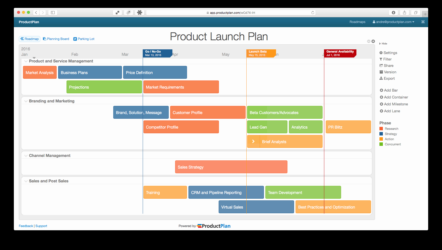 Product Launch Plan Template Excel Inspirational Product Launch Plan Roadmap Template My Tab