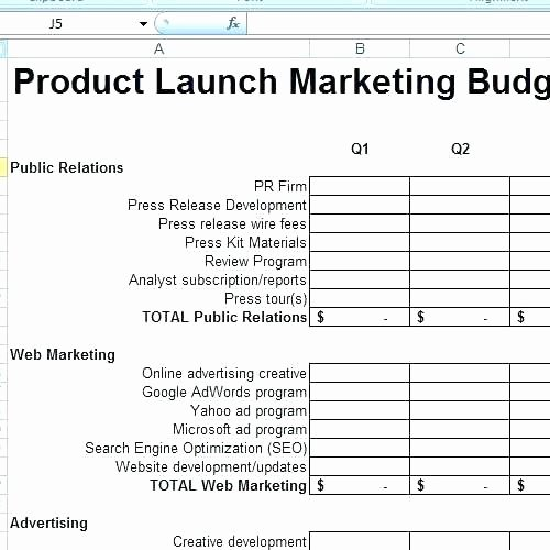 Product Launch Plan Template Excel Lovely New Product Launch Checklist Template Inspection Free