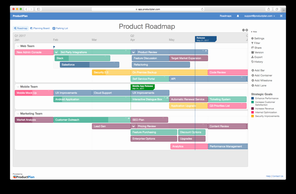 Product Launch Plan Template Excel Lovely the Anatomy Of A Roadmap
