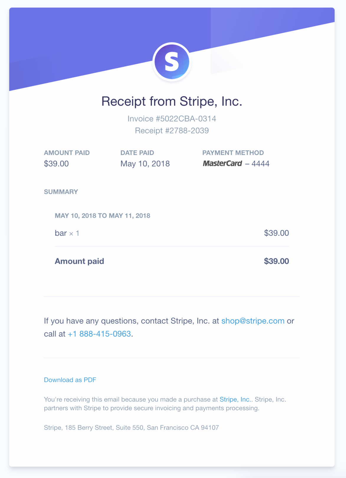 Product Purchase Receipt Number Elegant 6 Ways to Accept Recurring Payments 2019