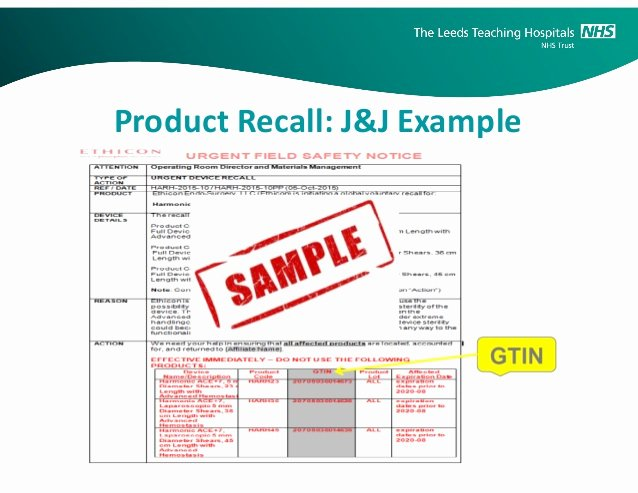 Product Recall Plan Template Best Of Product Recall Plan Example