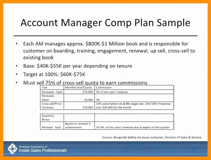 Professional Compensation Plan Template Best Of Sales Pensation Plan Template Excel Pensation Plan