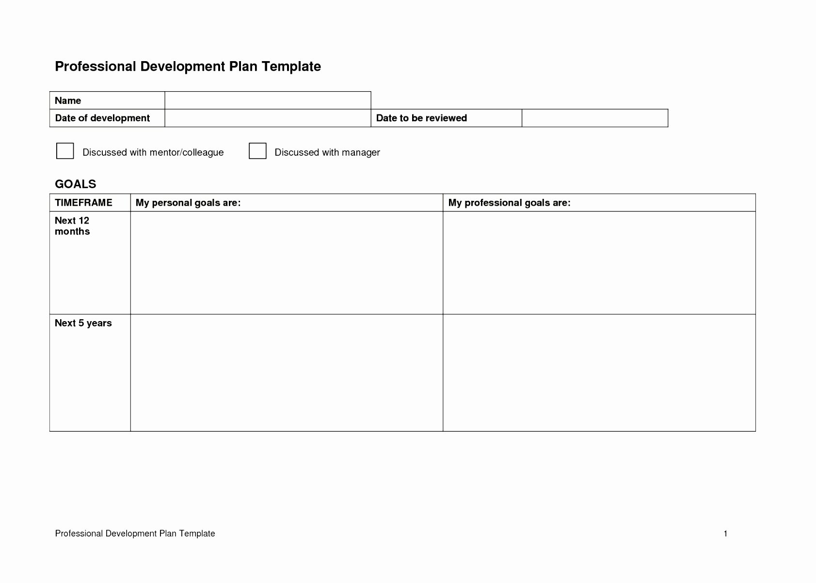Professional Growth Plan Template Fresh Recent Articles Re Cpd Simple Personal and Professional