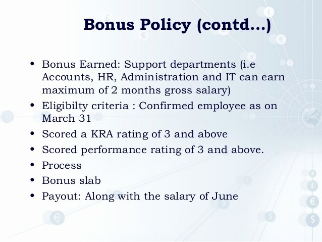 Profit Sharing Bonus Plan Template Best Of Kra Presentation
