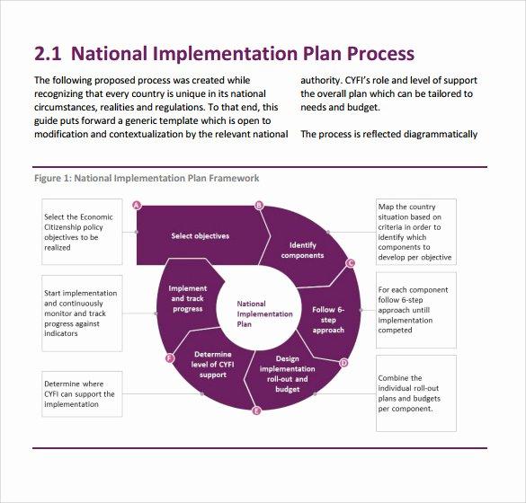 Programme Implementation Plan Template Inspirational 12 Implementation Plan Templates Pdf Word Google Docs