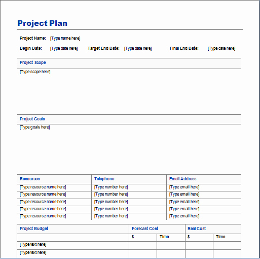Project Execution Plan Template Luxury Ideas Project Planner Template Project Execution Plan