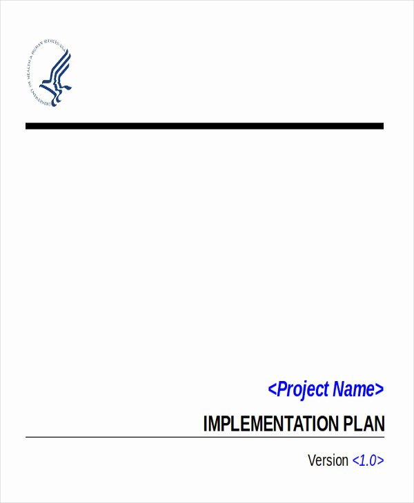 Project Implementation Plan Template Best Of 6 Implementation Plan Examples