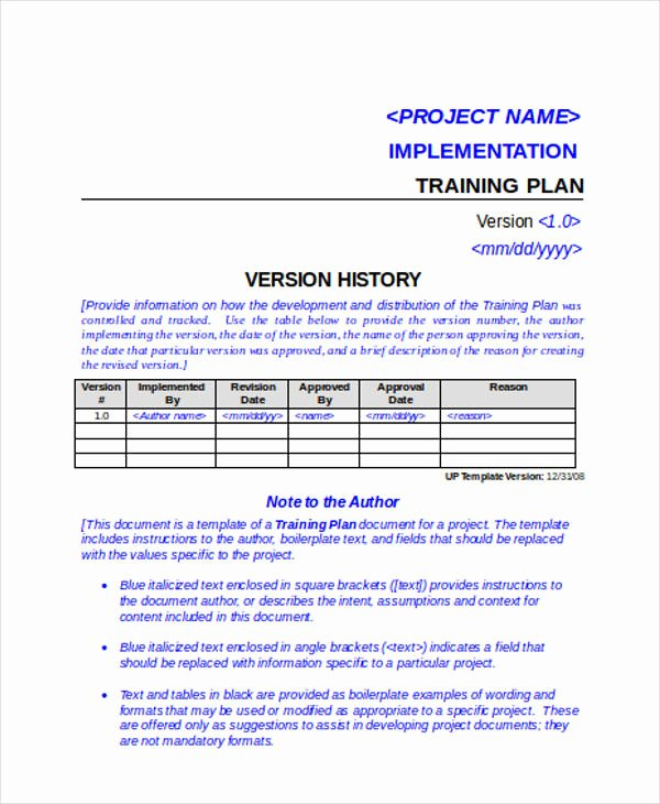 Project Implementation Plan Template Elegant 47 Examples Of Implementation Plans Word Google Docs