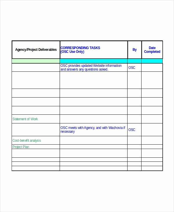 Project Implementation Plan Template Fresh Excel Project Plan Template 10 Free Excel Document