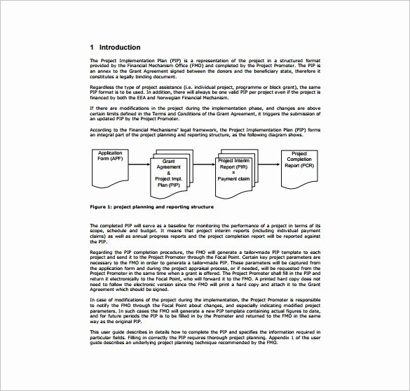 Project Implementation Plan Template Fresh Sample Project Plan Template 11 Free Excel Pdf