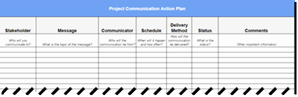 Project Management Communication Plan Template Beautiful How to Create A Project Munication Plan