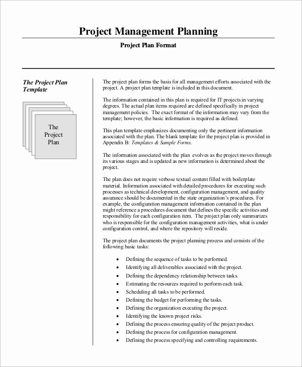 Project Management Plan Template Word Lovely Sample Project Management Plan 15 Examples In Word Pdf