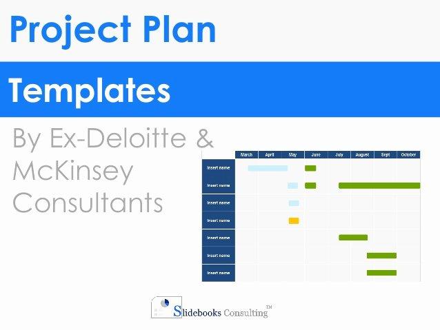 Project Plan Powerpoint Template Elegant Project Plan Templates In Powerpoint & Excel