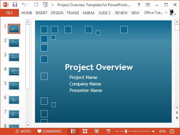 Project Plan Powerpoint Template Fresh Free Project Plan Powerpoint Template