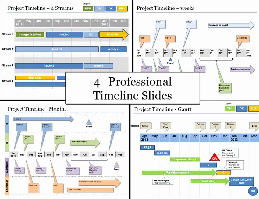 Project Plan Powerpoint Template Inspirational Powerpoint Project Timeline Planning Template