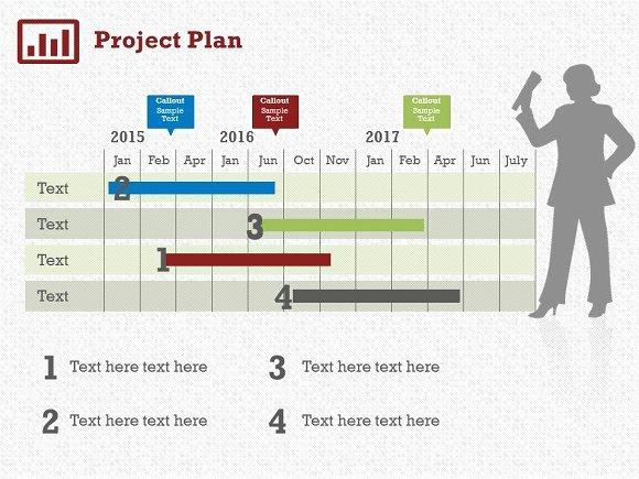 Project Plan Powerpoint Template Unique Project Plan 5 Powerpoint Template Presentation