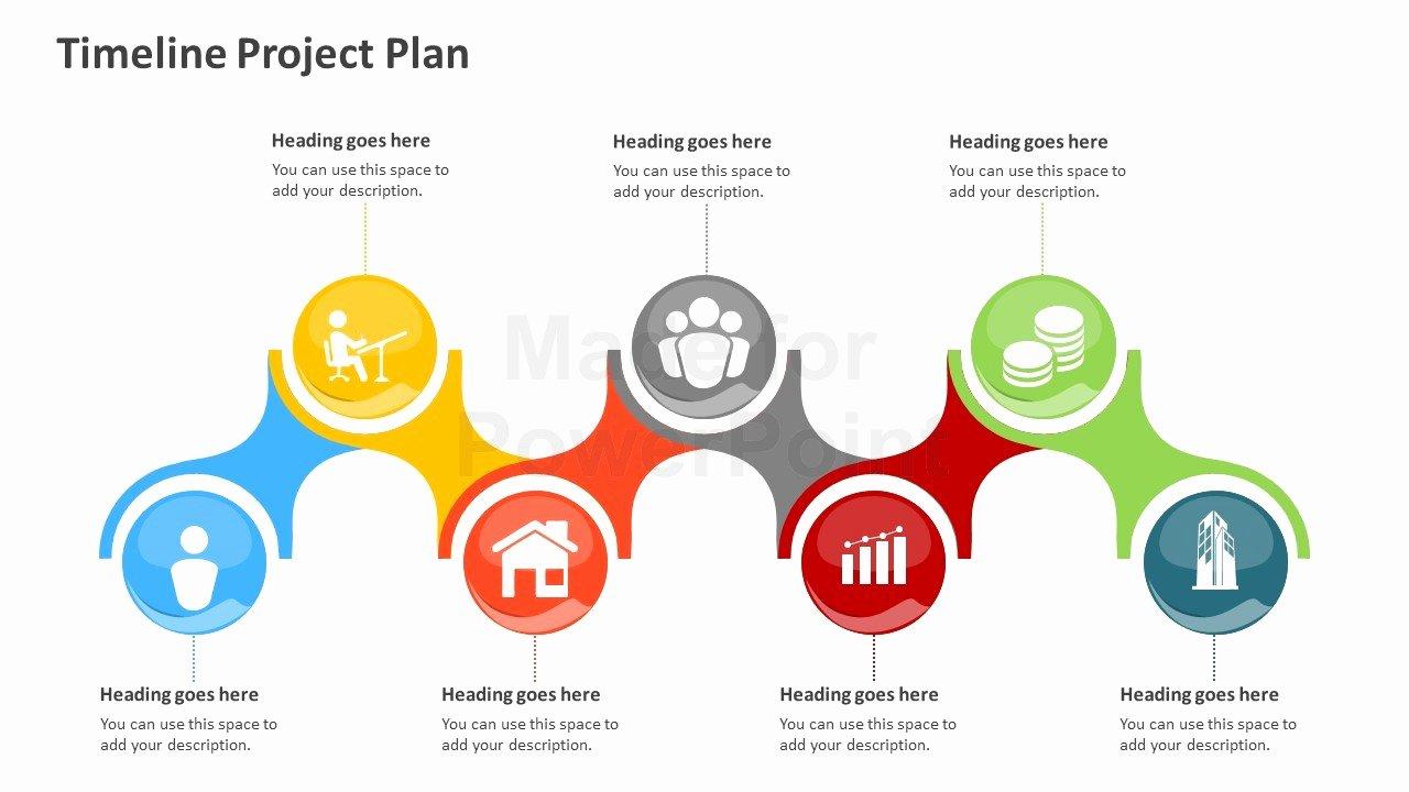 Project Plan Powerpoint Template Unique Timeline Project Plan Powerpoint Template