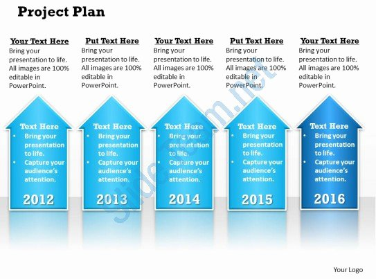 Project Plan Template Powerpoint Inspirational Project Plan Powerpoint Template Slide
