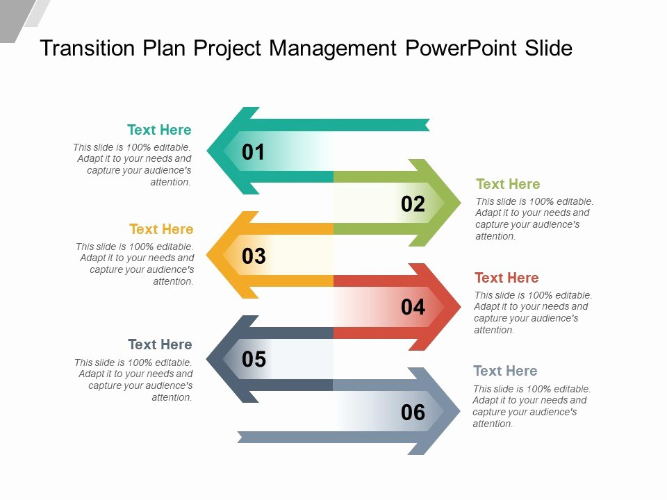 Project Plan Template Powerpoint Luxury Style Layered Vertical 6 Piece Powerpoint
