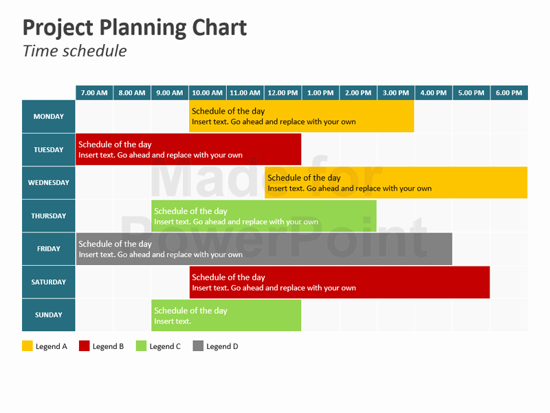 Project Plan Template Powerpoint New Project Planning Chart Powerpoint Slides