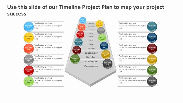 Project Plan Template Powerpoint New Timeline Project Plan Editable Powerpoint [template]